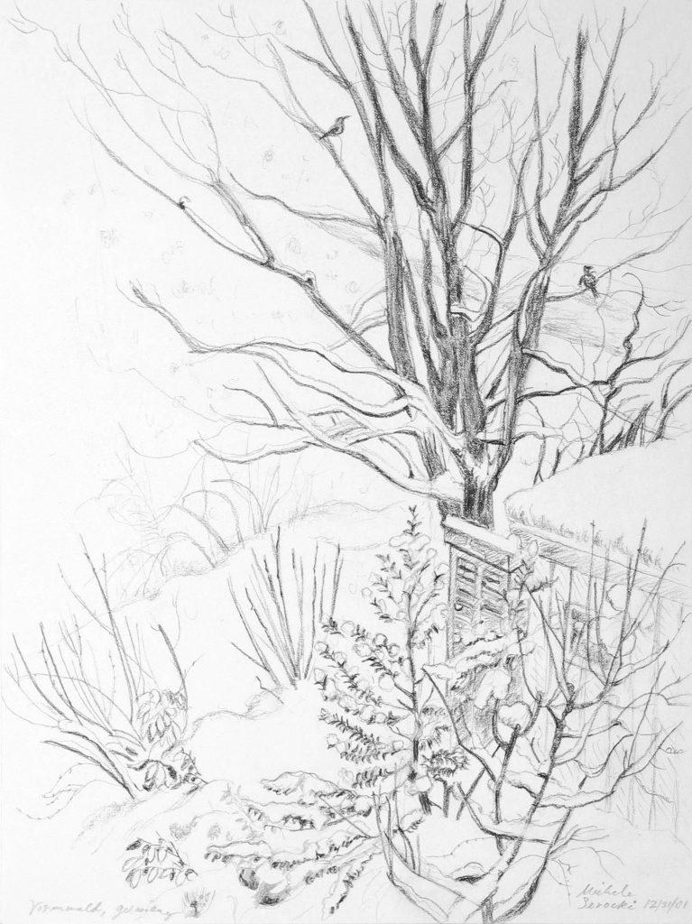 Vormwald Garden in Winter