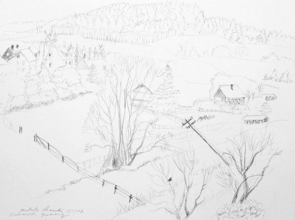 Vormwald Winter Landscape