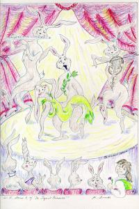 Act II, Scene 3 of 'The Loquat Princess'